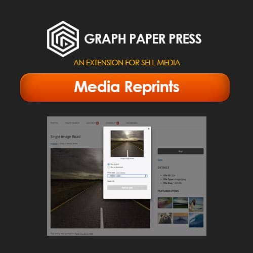 Graph Paper Press Sell Media Reprints