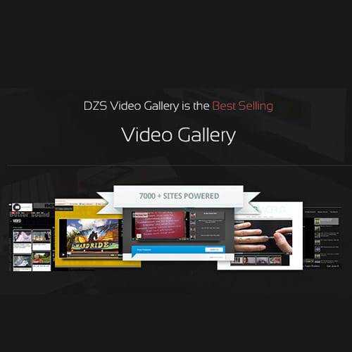 Video Gallery Wordpress Plugin w YouTube Vimeo Facebook pages